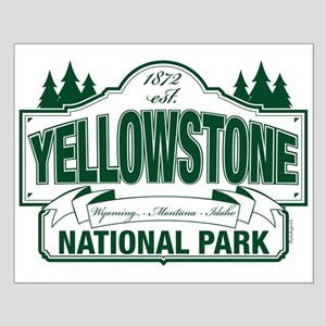 Green Yellowstone Small Poster